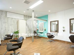 CORE HAIR(コアヘアー) 上越の美容院