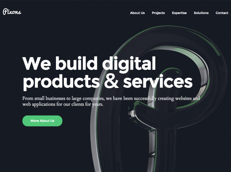 We build websites and web applications
