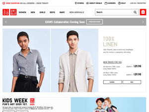 Women's, Men's and Kids' Clothing and Accessories|UNIQLO